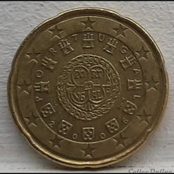 Portugal - 2006 - 20 cents