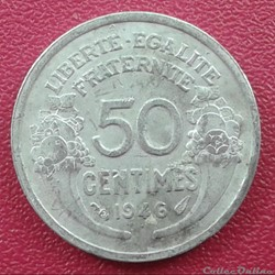 50 centimes 1946