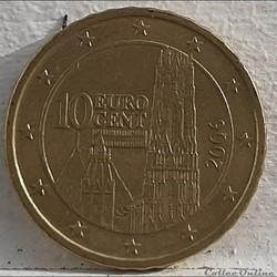 Autriche - 2006 - 10 cents