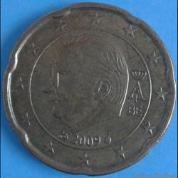 Belgique - 2009 - 20 cents