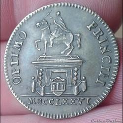 Louis XVI - Jeton 3