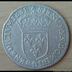 1658 D - 1/12ème écu