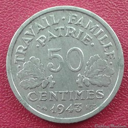50 centimes 1943