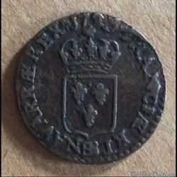 1720 BB - Liard au buste enfantin