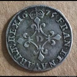 1675 D - 4 sols aux traitans