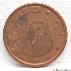 Espagne - 2004 - 1 cent