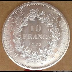 10 francs 1973
