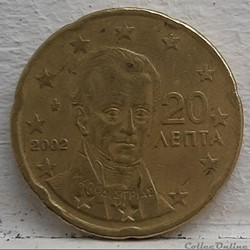 Grece - 2002 - 20 cents