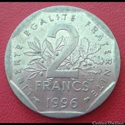 2 francs 1996