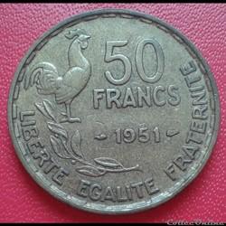 50 francs 1951