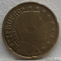 Luxembourg - 2002 - 20 cents
