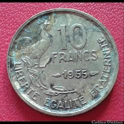 10 francs 1955