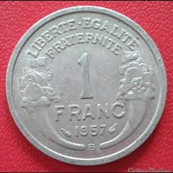 1 franc 1957 B