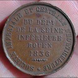 Jeton - Société d'horticulture Rouen 183...