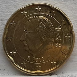 Belgique - 2012 - 20 cents