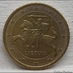 Lituanie - 2015 - 50 cents