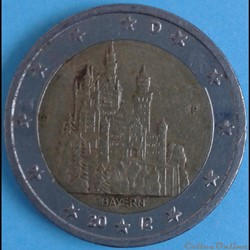 Allemagne - 2012 - D - 2 euros Chateau N...