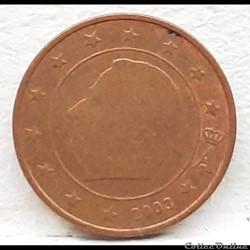 Belgique - 2003 - 1 cent
