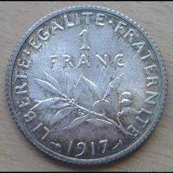 1 franc 1917