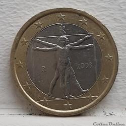 Italie - 2008 - 1 euro