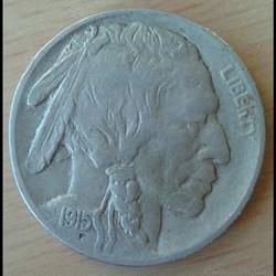 USA - 5 cents 1915