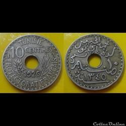 Tunisie - 10 centimes 1926