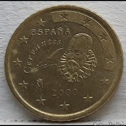 Espagne - 2000 - 50 cents