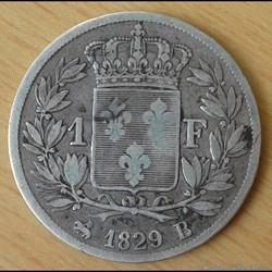 Charles X - 1 franc 1829 - 4 F