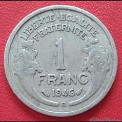 1 franc 1946 B