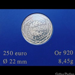 France - 2010 - 250 euros