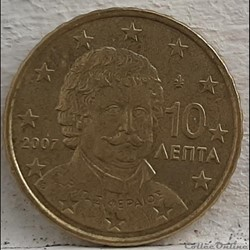 Grece - 2007 - 10 cents