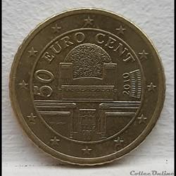 Autriche - 2010 - 50 cents