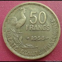 50 francs 1958