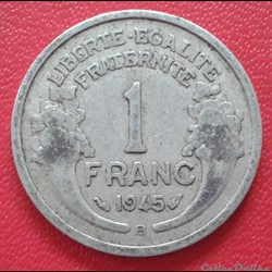 1 franc 1945 B