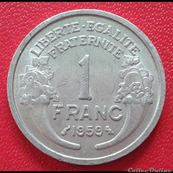 1 franc 1959