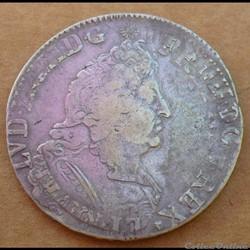 Louis XIV - Ecu aux insignes 1701