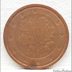 Allemagne - 2002 - F - 2 cents