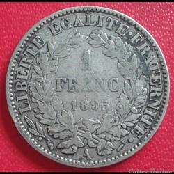 1 FRANC 1895 A