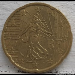 France - 2001 - 20 cents