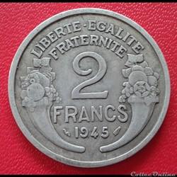 2 francs 1945