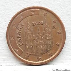 Espagne - 2005 - 5 cents