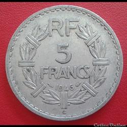 5 francs 1946 C - ALU