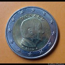 Monaco - 2012 - 2 euros