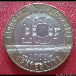 10 francs génie 2000