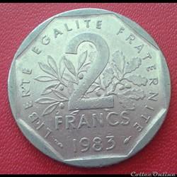 2 francs 1983