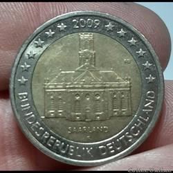 Allemagne - 2009 - F - 2 euros Présidence de la Sarre