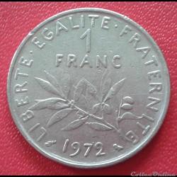1 franc 1972