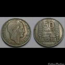 Algérie - 50 francs 1949