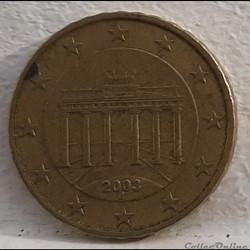 Allemagne - 2003 - J - 10 cents