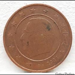 Belgique - 2004 - 2 cents